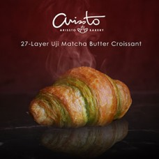 27-Layer Matcha Butter Croissant (2 pieces per pack)