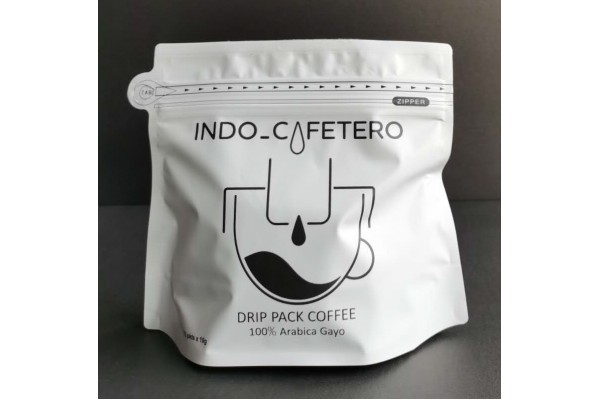 INDO_CAFETERO Arabica Gayo Drip Pack Coffee (12x10g)